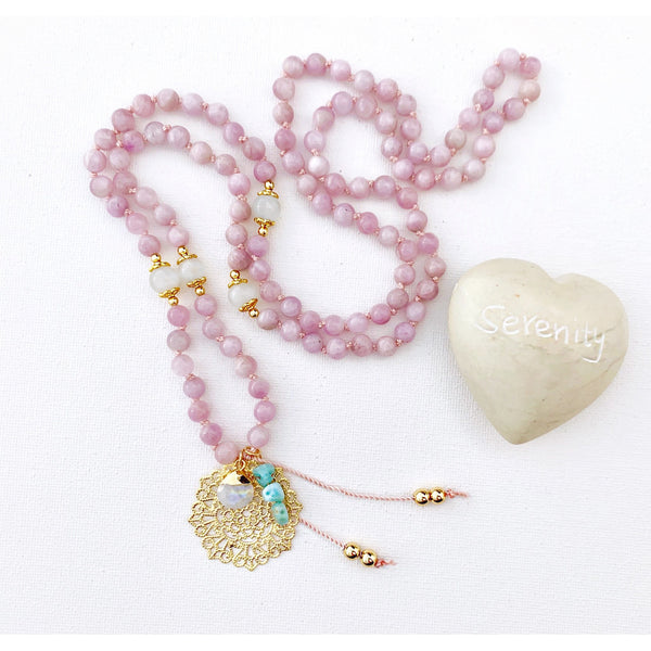 Love Goddess Mala Necklace - Vibe Jewelry