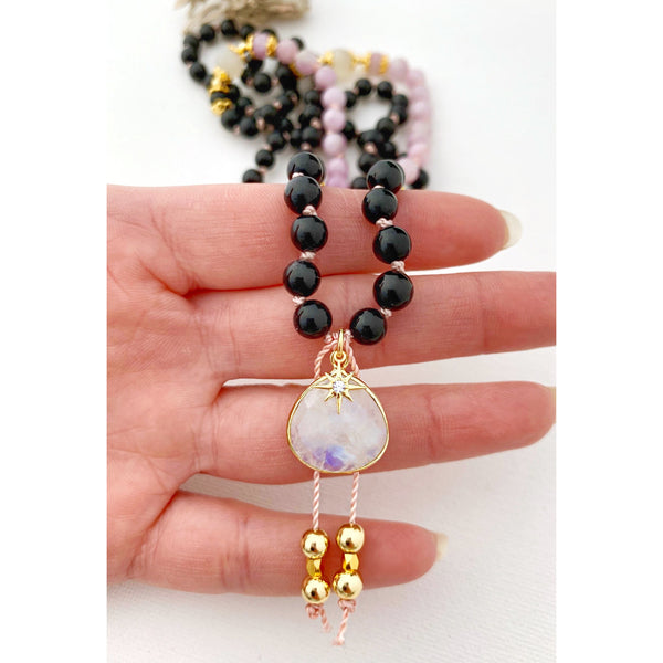 Strength Goddess Mala Necklace - Vibe Jewelry