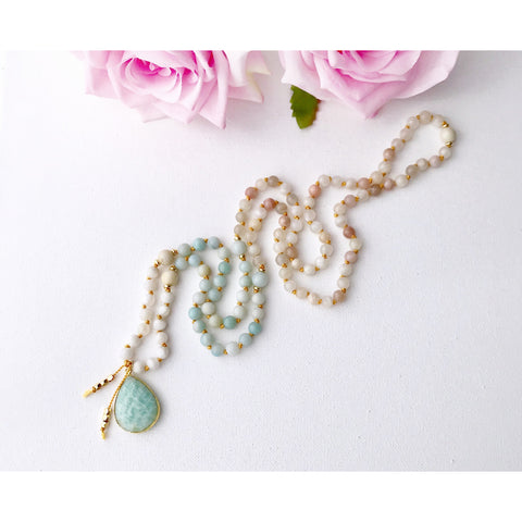 New Beginnings Mala Necklace - Vibe Jewelry