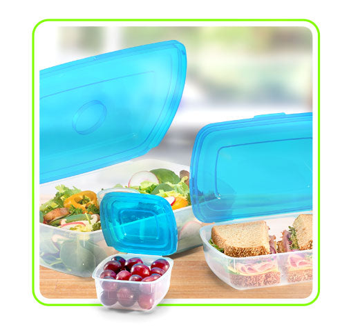 Food container sizes