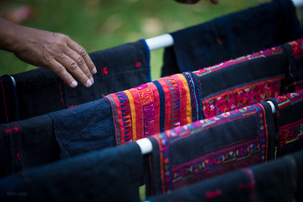 Hill tribe fabric designs | Thailand