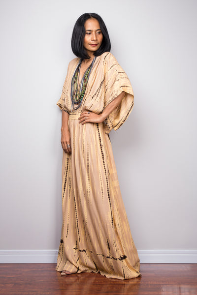 Shop Tie dye kimono kaftan online.  Nuichan offers vast variety of tie dye summer dresses