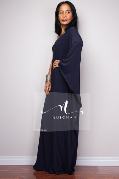 One Shoulder Dress. Asymmetric dress styles. Cocktail dress by Nuichan