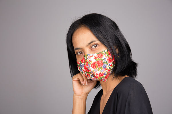comfortable face masks with filter pocket for sale