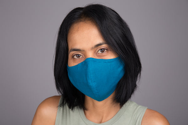 Cotton Face Mask online | Cloth Mask | 3 layer cotton mask with filter pocket