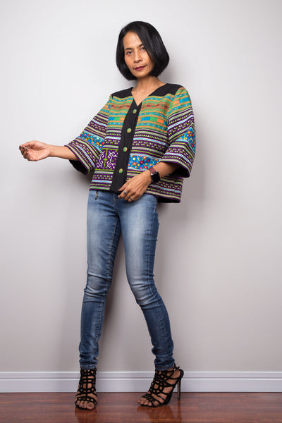 Hill tribe Blouse Top
