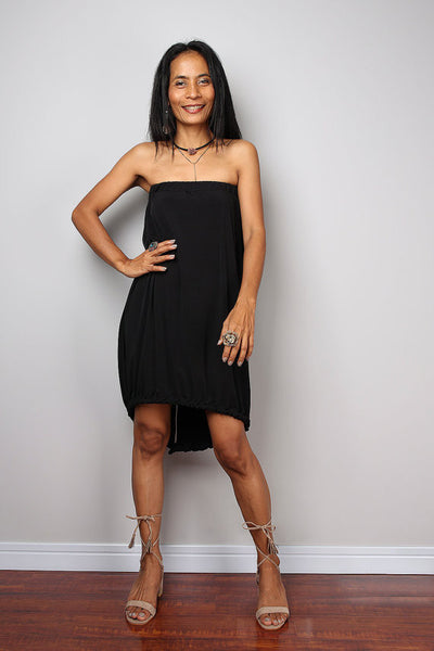 Black two piece dress, black skirt and matching top, 2 piece set dress : Street Soul Collection no 2