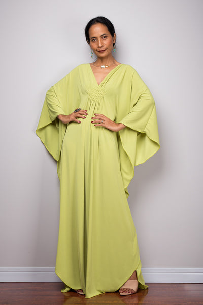 Lime green kaftan