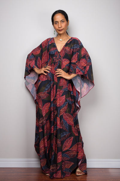 buy plus size kaftan online.  Affordable kaftan dresses by Nuichan