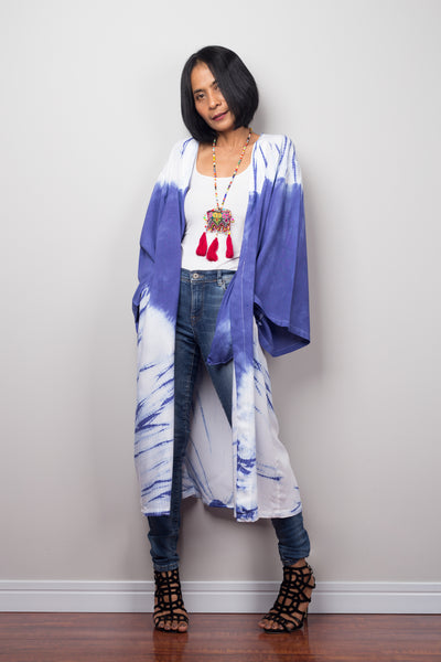 Tie dye robe by Nuichan