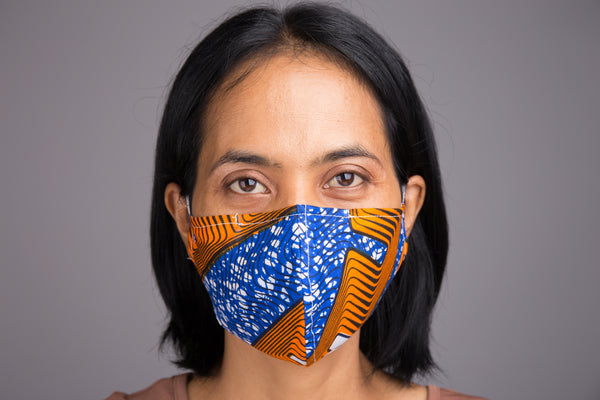 Buy Cloth Face Masks online | Mask with filter pocket | Design by Nuichan