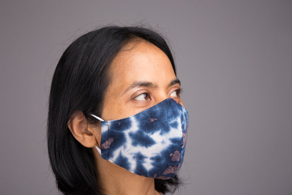 Pack of 3 Face Masks | Tie dye cloth mask