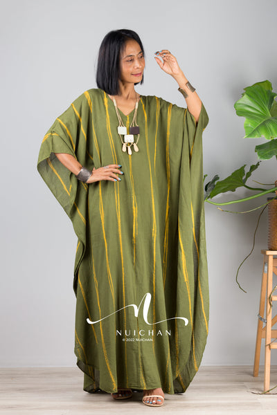 Purple Dress | Light Purple Kaftan | Kimono Dress | Soft lavender dress