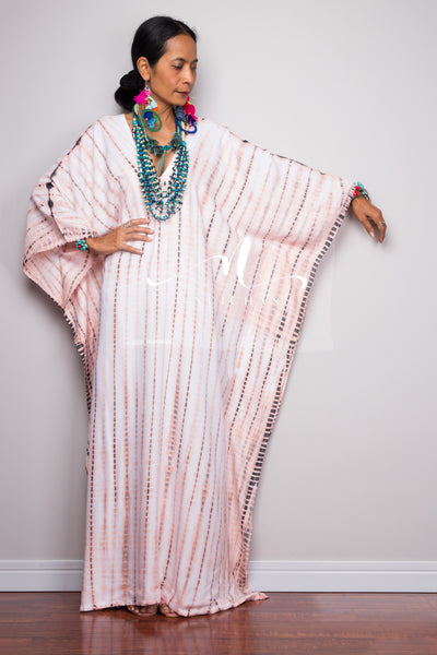 Shop Tie dye kimono kaftan dress online.  Nuichan offers vast variety of tie dye dresses