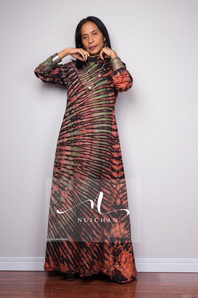 Buy tie dye dress online.  Check out Nuichan's tie dye designs