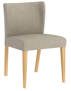 Kyoto Upholstered Dining Chair - Solid American white oak legs
