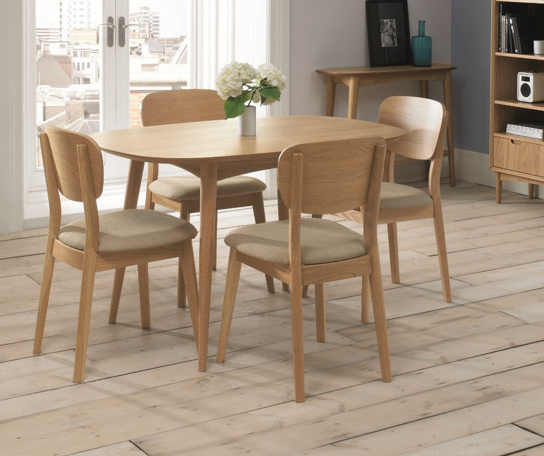 Stockholm 4 seat dining table