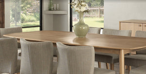 Kyoto extension dining table large