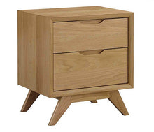 Load image into Gallery viewer, Milano 2 drawer bedside table