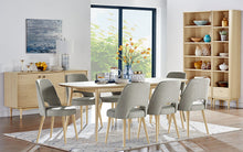 Load image into Gallery viewer, Riga 9 Piece Dining Setting ( extension table ) / Coro chairs