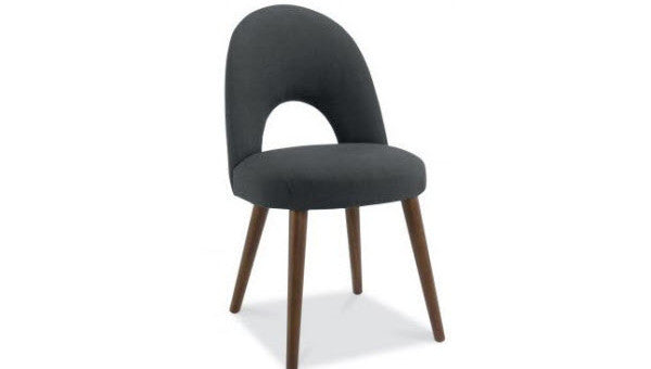Stockholm Upholstered Chair - Walnut