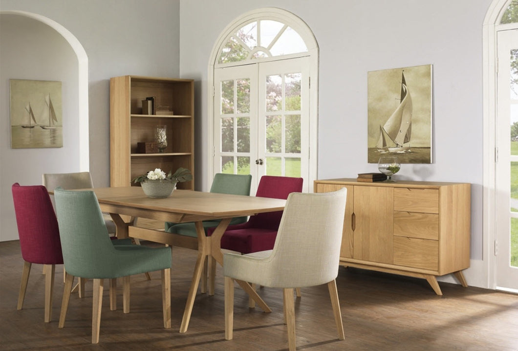 Milano Dining Setting ( extension table ) / Ella chairs