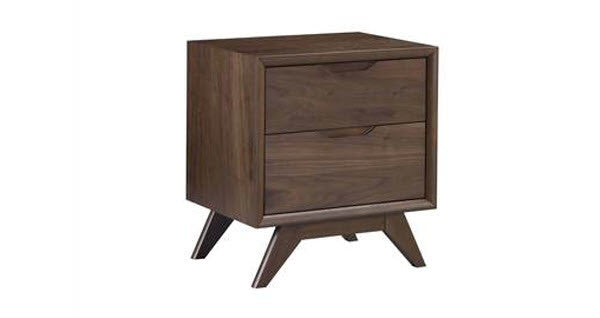 Trieste 2 Drawer Bedside Table