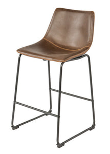 Vintage Bar Stool Tan