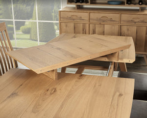 Vintage extension dining table