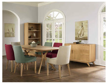 Load image into Gallery viewer, Ella Upholstered Dining Chair - Natural Legs
