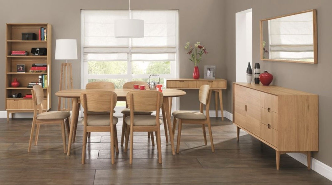 Stockholm 6 seater dining table