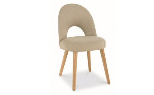 Stockholm stone upholstered dining chair
