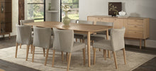 Load image into Gallery viewer, Kyoto Upholstered Dining Chair - Solid American white oak legs