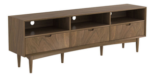 Stockholm entertainment unit walnut 180cm