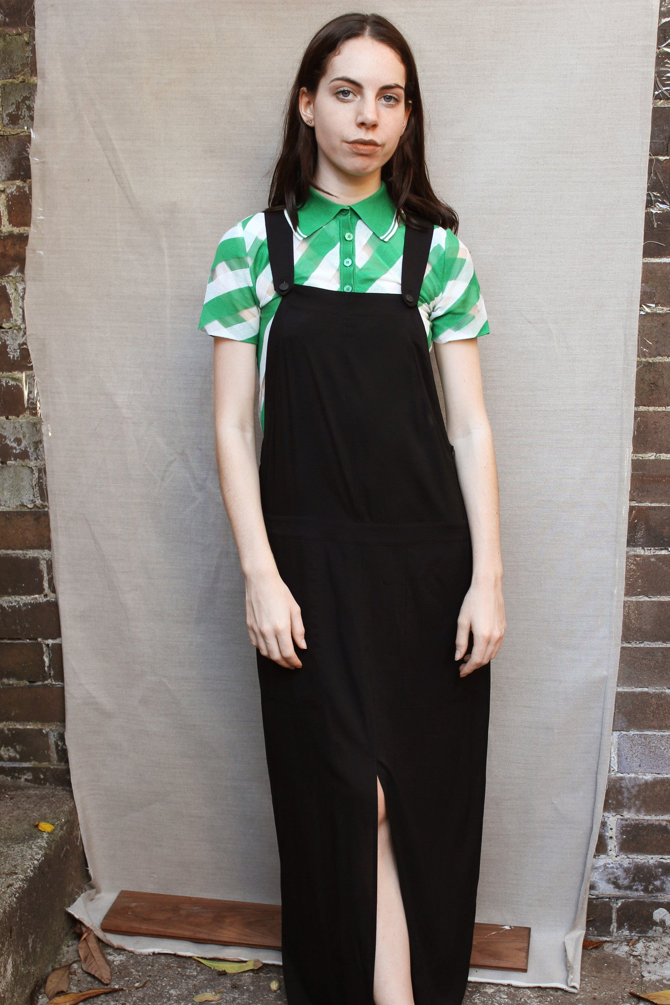 Archival Alexander Wang Overall Dress