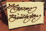 Chocolate Plaque