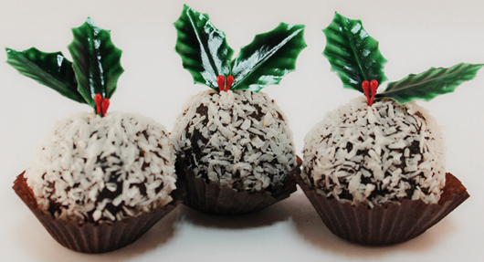 Christmas Coconut Ball
