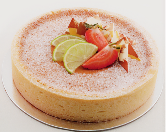 Baked Lemon Lime Tart