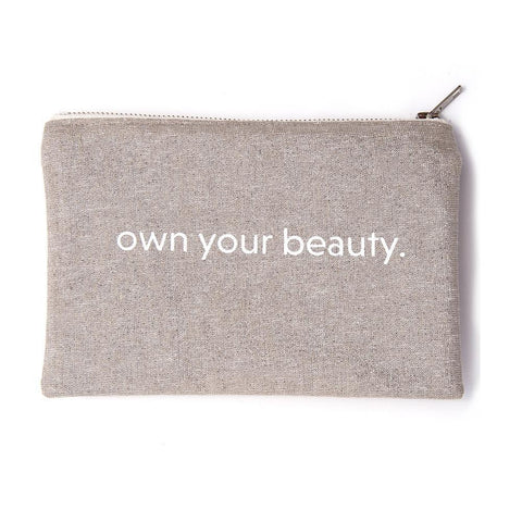 Own Your Beauty Cosmetic Bag