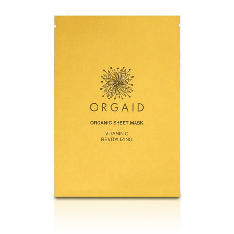 Orgaid- Vitamin C & Revitalizing Organic Sheet Mask