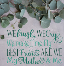 Best Friends Are We Mother & Me Svg, Mother's Day, Digital File, SVG, DXF, EPS, Png, Jpg, Cricut, Silhouette, Print File