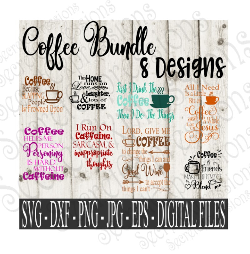 34+ All I Need Is Coffee And A Whole Lot Of Jesus / Svg Dxf Png Eps Cutting File Silhouette Cricut Image