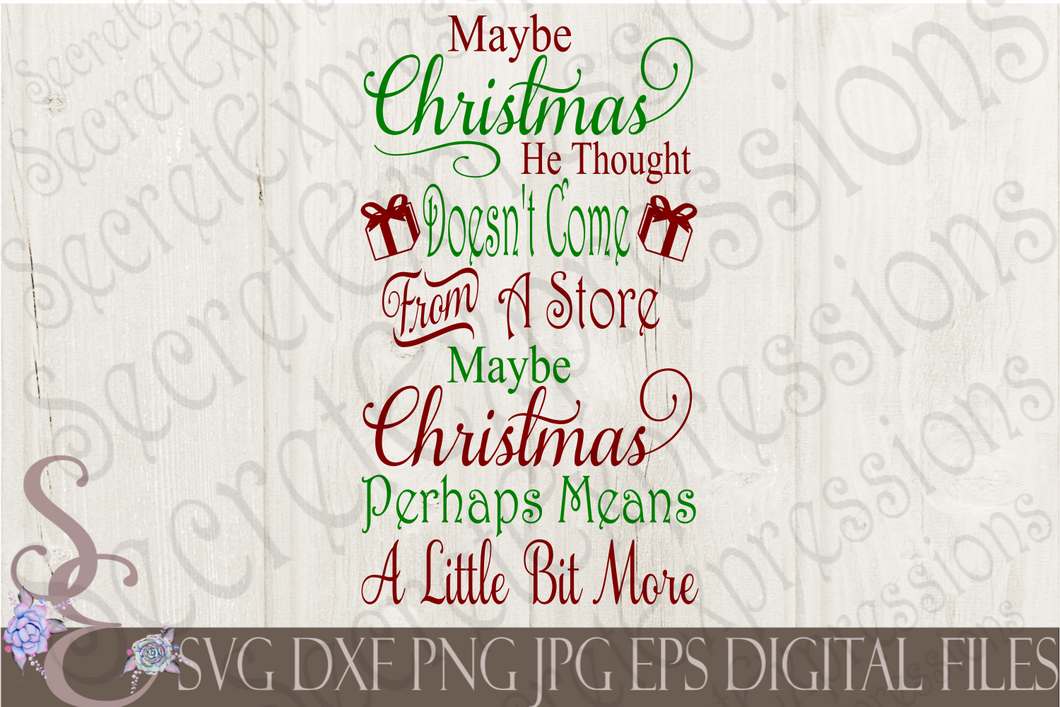 Grinch Svg, Christmas Digital File, SVG, DXF, EPS, Png, Jpg, Cricut, Silhouette, Print File