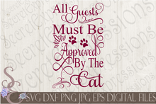 Cat SVG Bundle, Pet Digital File, SVG, DXF, EPS, Png, Jpg, Cricut, Silhouette, Print File