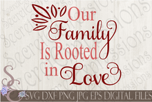 Family SVG Bundle, Religious Digital File, SVG, DXF, EPS, Png, Jpg, Cricut, Silhouette, Print File