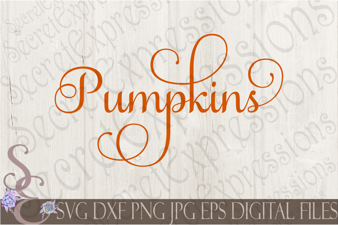Pumpkins Svg, Digital File, SVG, DXF, EPS, Png, Jpg, Cricut, Silhouette, Print File