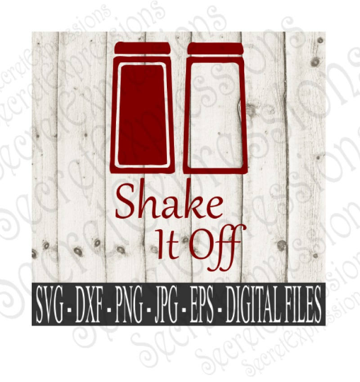 Shake It Off Svg, Digital File, SVG, DXF, EPS, Png, Jpg, Cricut, Silhouette, Print File