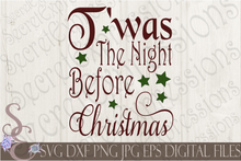 Christmas Bundle 8 SVG, Digital File, SVG, DXF, EPS, Png, Jpg, Cricut, Silhouette, Print File