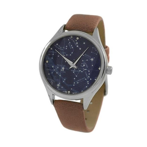 Constellations Watch Leather Band Watch