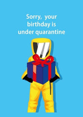 Quarantine Happy Birthday To You - Birthday For Everyone Greeting Card - CardCraft
